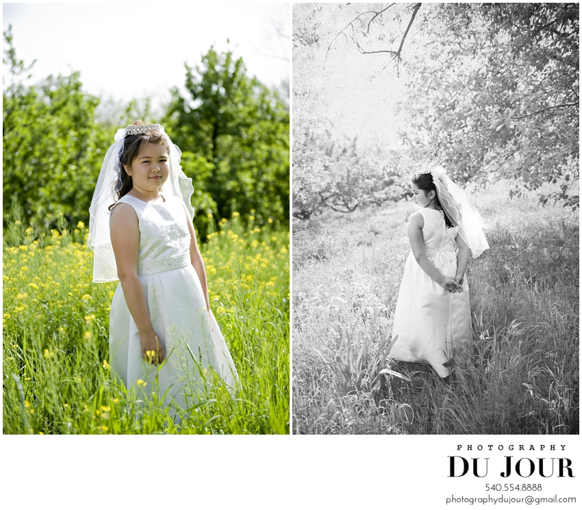 First Communion: Northern Virginia Photographer