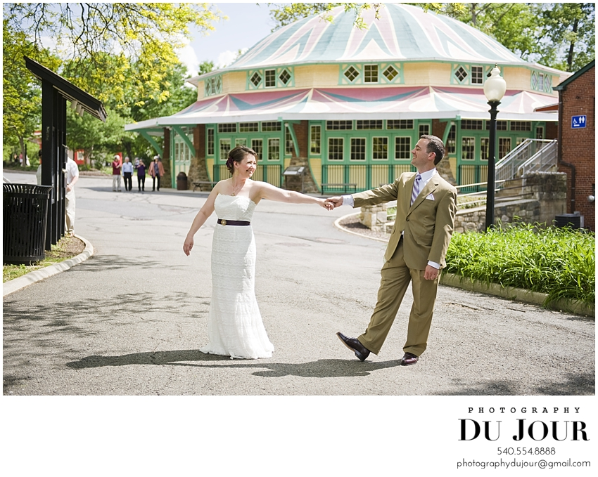Kate + Peter Married at Glen Echo: Maryland Wedding Photographer
