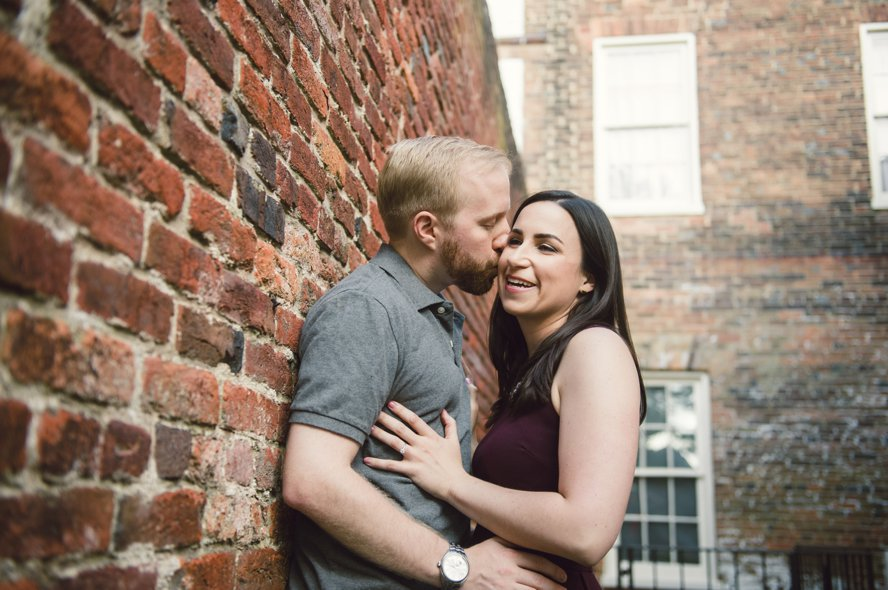 A Harper's Ferry Engagement Session, Becca + Casey: Virignia Wedding Photography
