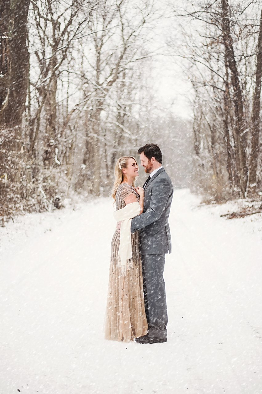 Goodbye winter, but you were beautiful: Washington D.C. Wedding Photographer