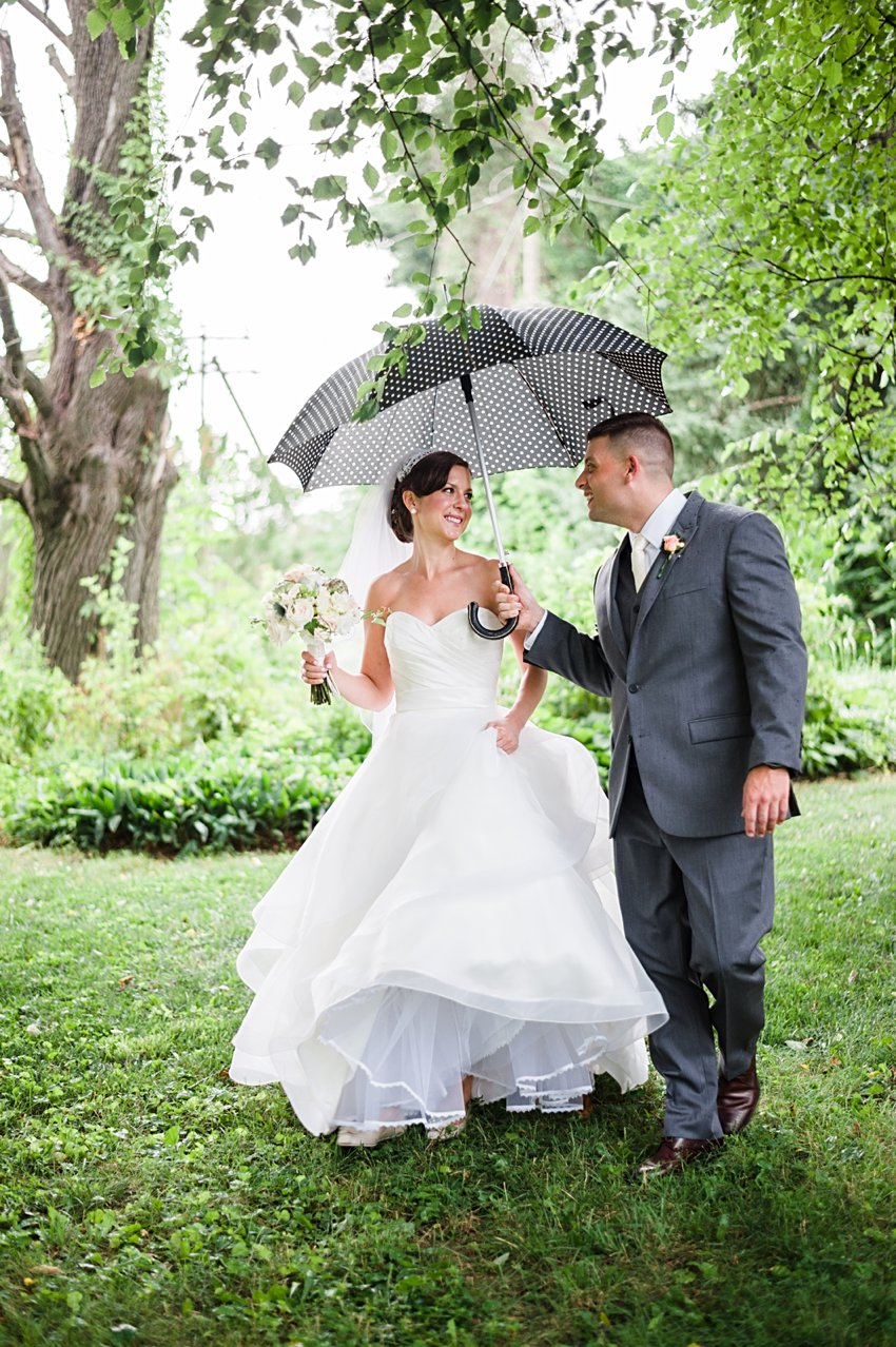 Tips for a Rainy Wedding Day: Virginia Wedding Photographer